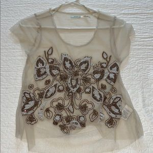 Urban outfitters beaded Tee